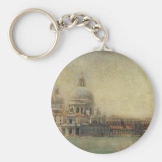 Vintage Venice, Madonna della Salute Church Key Chains