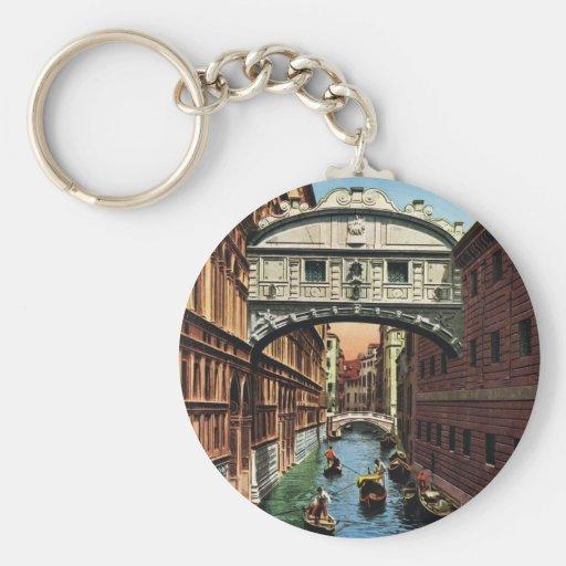 Vintage Venice, the Bridge of Sighs Keychains