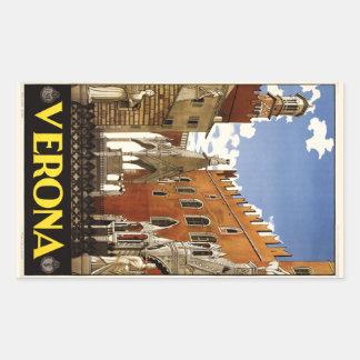 Vintage Verona Italy stickers