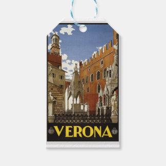 Vintage Verona Travel Gift Tags