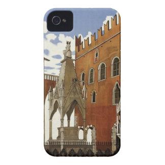 Vintage Verona Travel iPhone 4 Case