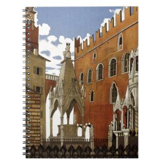 Vintage Verona Travel Notebook