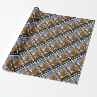 Vintage Verona Travel Wrapping Paper