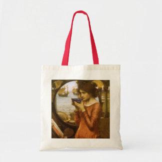 Vintage Victorian Art, Destiny by JW Waterhouse Tote Bag