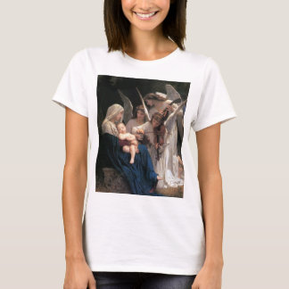 Vintage Victorian Art, Song of Angels, Bouguereau T-Shirt