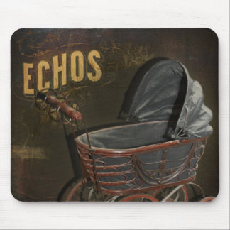 Vintage Victorian Baby Buggy Carriage Mouse Mats