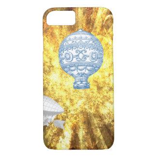 VINTAGE VICTORIAN BALLOONS IN GOLDEN HEAVEN iPhone 7 CASE