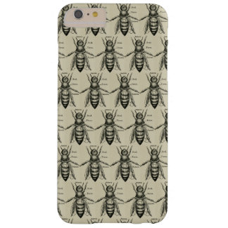 Vintage Victorian Bee Pattern Barely There iPhone 6 Plus Case