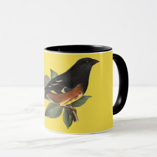 Vintage Victorian Bird Coffee Mug