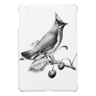 Vintage/Victorian Bird Engraving iPad Mini Cover