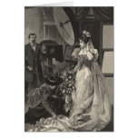 Vintage Victorian Bride, Bridal Portrait Cards