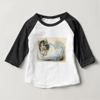 Vintage Victorian Cat Kitten Baby T-Shirt