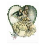 Vintage Victorian Christmas Wedding Postcards