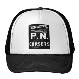 Vintage Victorian Corset Advertisement Trucker Hat
