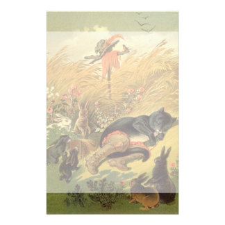 Vintage Victorian Fairy Tale, Puss in Boots Stationery