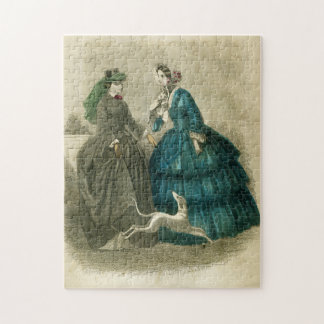Vintage Victorian Fashion Photo Puzzle