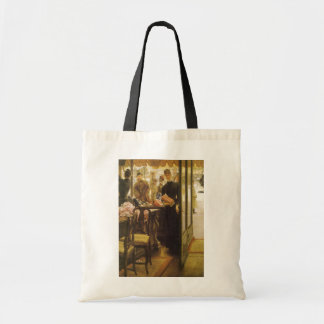 Vintage Victorian Fine Art, Shop Girl by Tissot