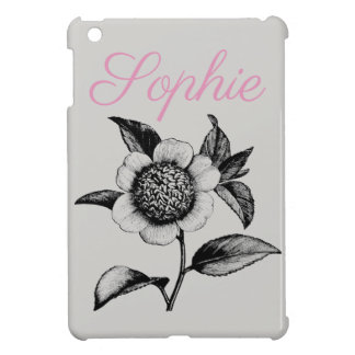 Vintage/Victorian Flowers Personnalised Case For The iPad Mini