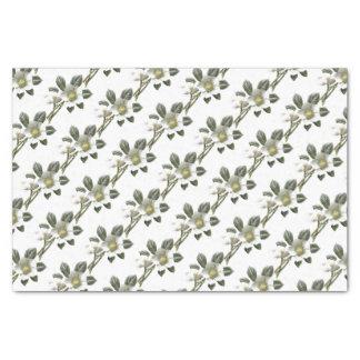 Vintage/Victorian Flowers Tissue Paper