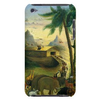 Vintage Victorian Folk Art, Noah's Ark by Hidley iPod Case-Mate Case