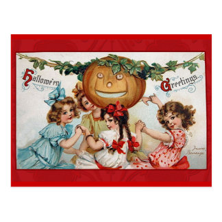 Vintage Victorian Halloween Greetings Cards Post Cards