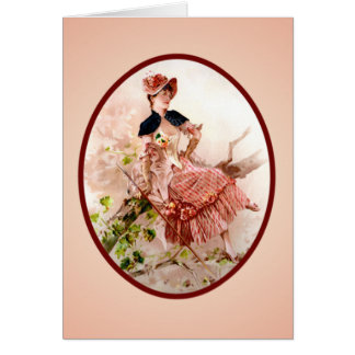 Vintage Victorian Mother's Day Card