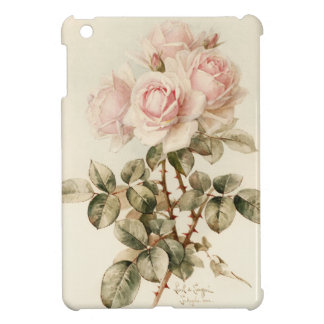 Vintage Victorian Romantic Roses iPad Mini Cover