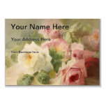 Vintage Victorian Rose Watercolor Pack Of Chubby Business Cards