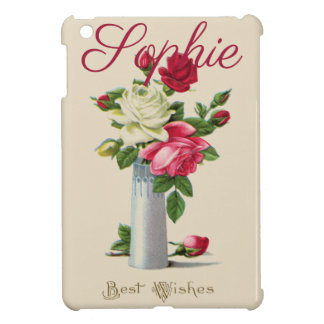 Vintage/Victorian Roses Personnalised Case For The iPad Mini
