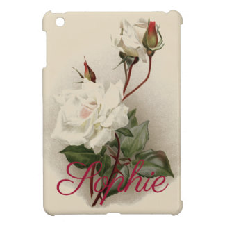 Vintage/Victorian Roses Personnalised Cover For The iPad Mini