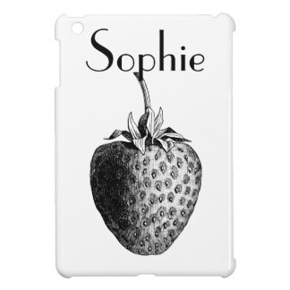 Vintage/Victorian Strawberry Personnalised iPad Mini Covers