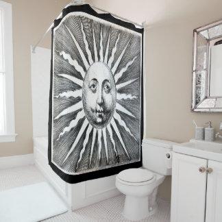Vintage Victorian Sun Shower Curtain