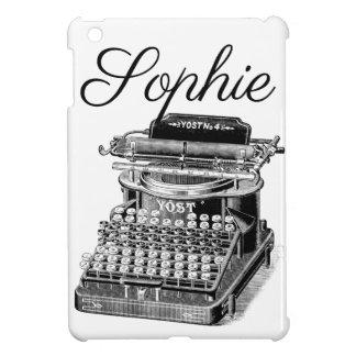 Vintage/Victorian Typewriter Engraving iPad Mini Covers