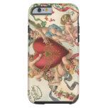 Vintage Victorian Valentines, Cherubs Angels Heart Tough iPhone 6 Case