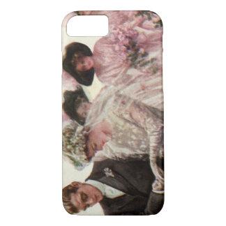 Vintage Victorian Wedding Ceremony, Bride Groom iPhone 7 Case