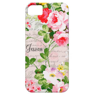 Vintage Victorian Whimsical Garden Case For The iPhone 5