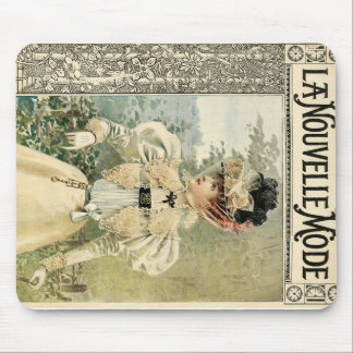 Vintage Victoriana Le Nouvelle Monde Mousemat