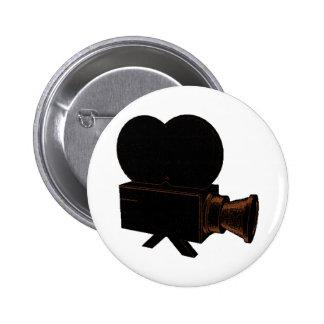 Vintage Video 6 Cm Round Badge
