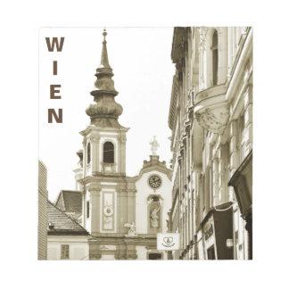 Vintage Vienna, Austria Notepad