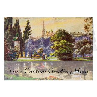 Vintage Vienna Park Postcard