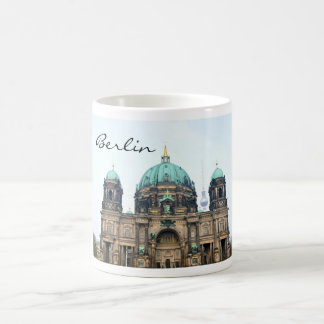 Vintage view of Berlin Cathedral (Berliner Dom) Coffee Mug