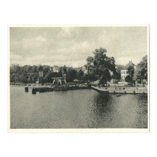 Vintage View of Bremen/Vegesack Postcard