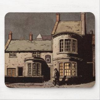 Vintage Village Thonrton England Building Mouse Pad