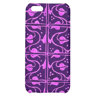 Vintage Vines Purple iPhone 5C Cases