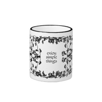 Vintage Vines Simple Things Mug