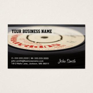 Vintage Vinyl business card