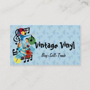 vinyl record albums business cards zazzle au