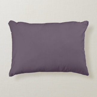 Vintage violet colour solid/plain decorative cushion