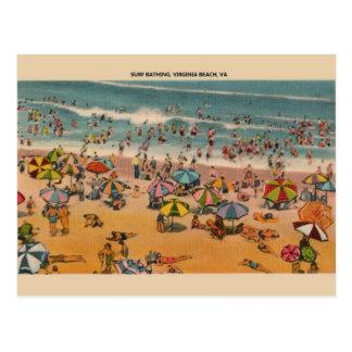 Vintage Virginia Beach Postcard