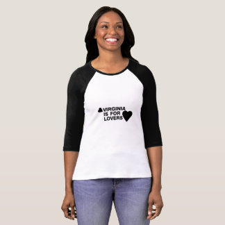 Vintage Virginia Is For The Lovers Gift T-Shirt